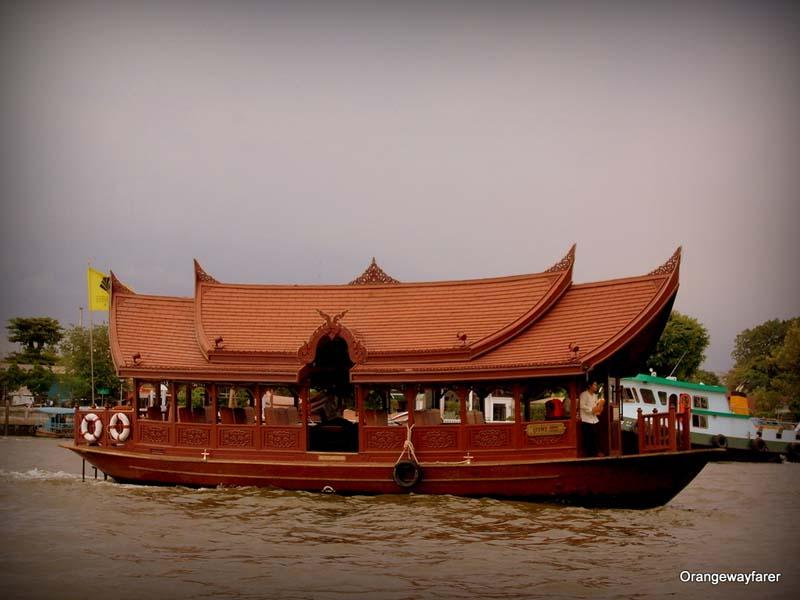 Chao Phraya River in bangkok, Thailand