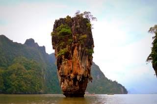 Phang Nga Bay Tours: James Bond, Andaman Sea, Rains: Boat Trip from Phuket!