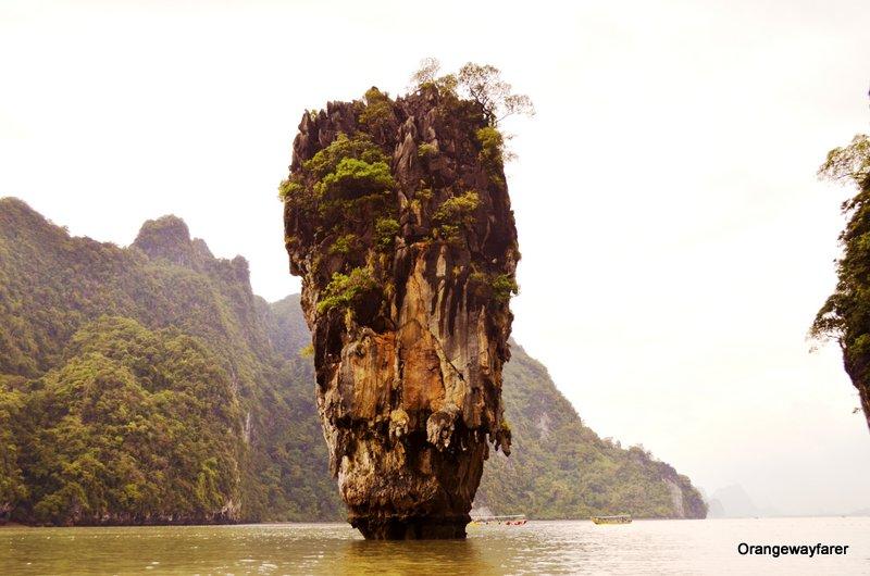 James Bond Island at Thailand