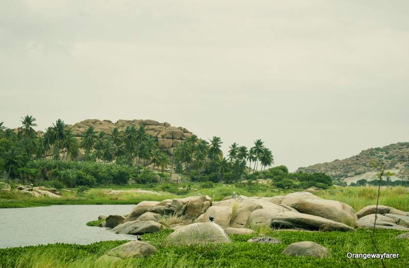 tungabhadra river Hampi