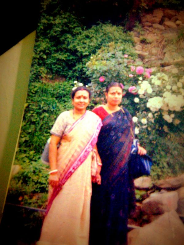Ma and Bomma in Shila, circa 2002