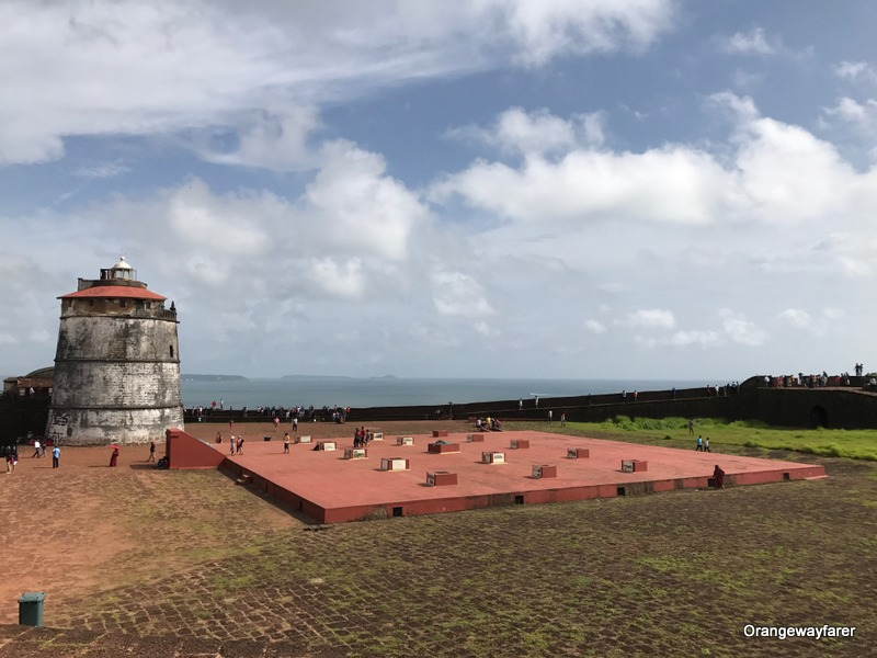 fort aguada: itinerary for 7 days in Goa