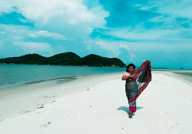 White Sandy beaches in Thailand where noone goes