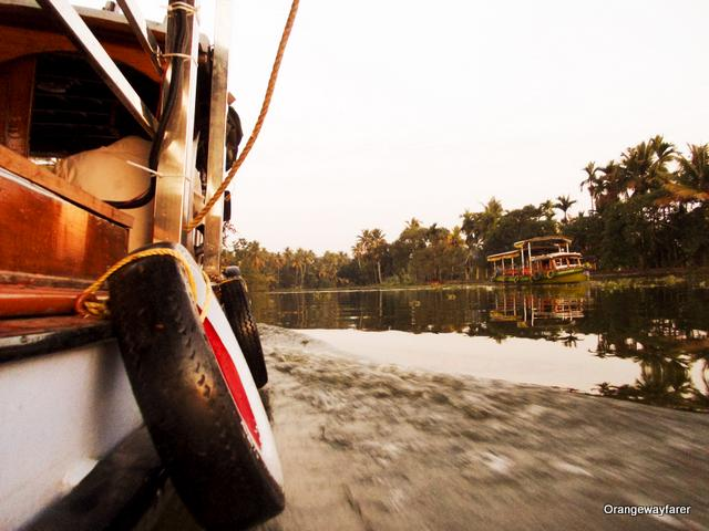 A boat ride on Vembanad lake, Alleppey