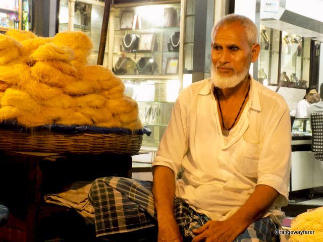 Man with Sewai Zakaria Street Kolkata