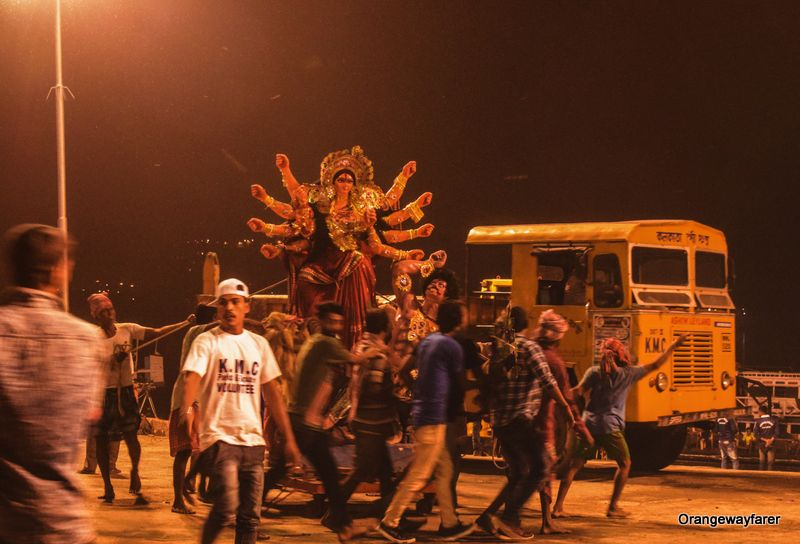 Durga Puja Bidarjan Kolkata