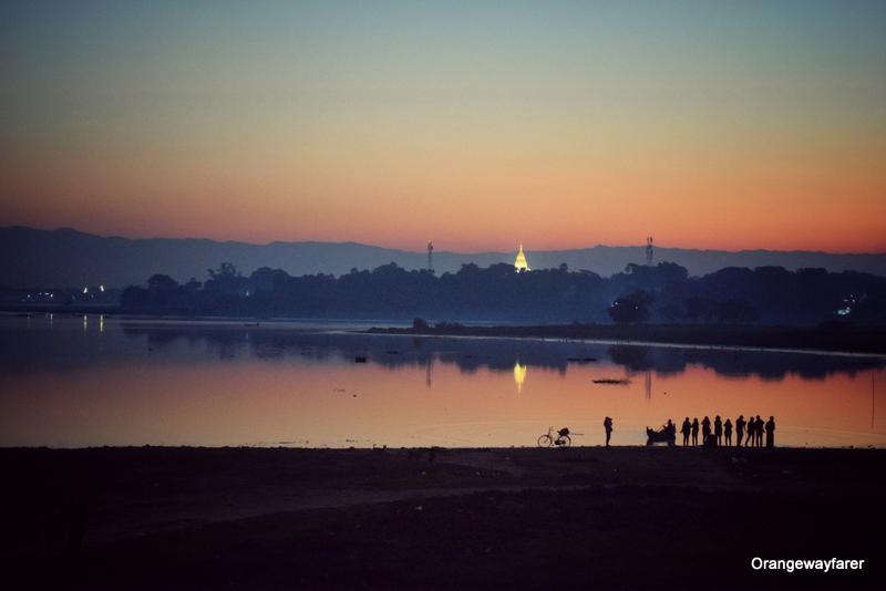 Sunrise at u bein bridge