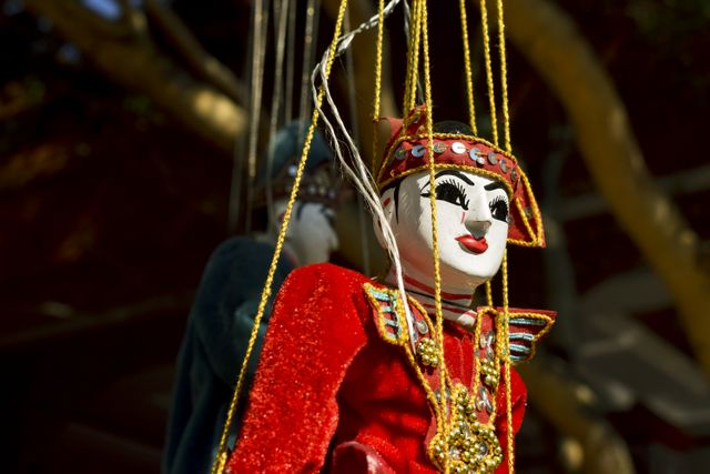 Puppet show of Bagan, Myanmar