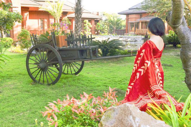 Horse cart Bagan