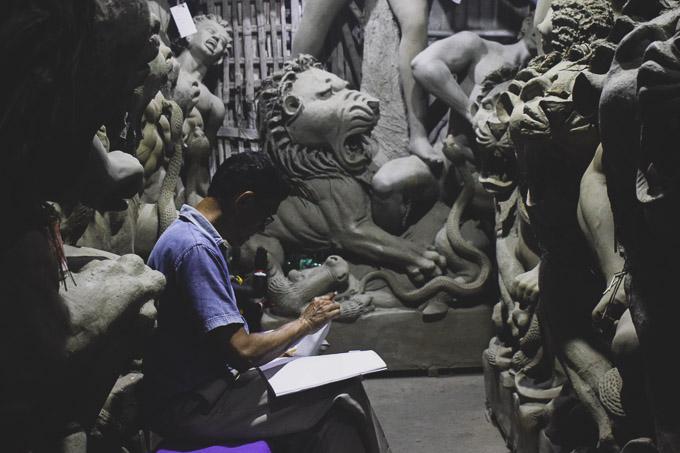 Kumartuli Maa Durga Image