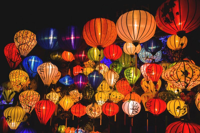 Lanterns at Hoi AN Port City
