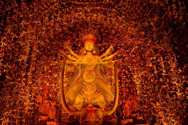 durga thakur photo: Barisha Sammiloni Andaman Puja theme