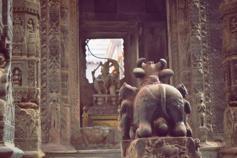 Beautification of Varanasi and old temples