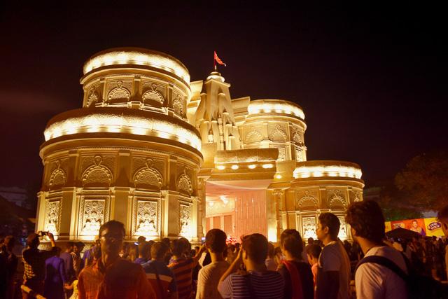 Deshapriya Park Kolkata Durga Pandal