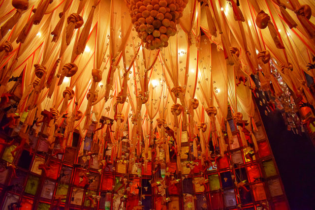 durgapuja festival photo: borish behala Puja Mandap