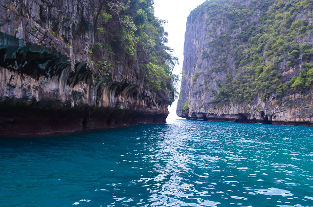 Entrance to Phi Phi Island, Thailand