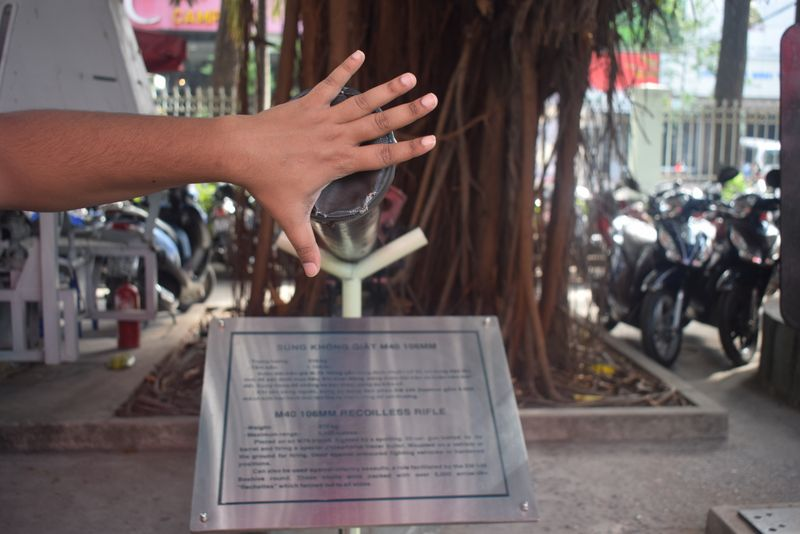 War remnant museum, Vietnam