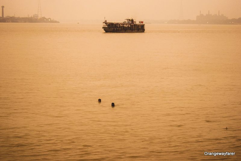 Ganga river in Kolkata
