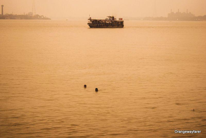 Ganga river in Kolkata