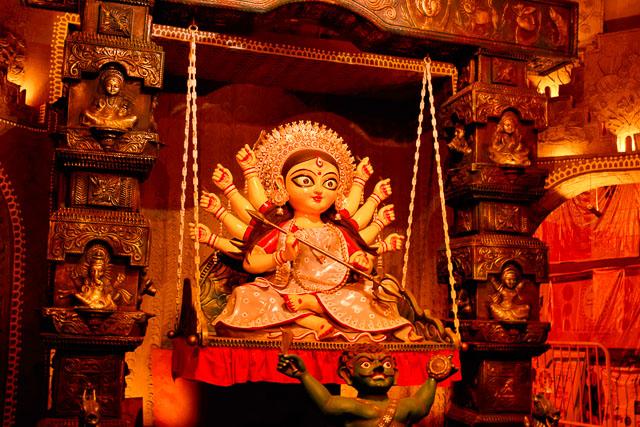 The most beautiful Maa durga idol