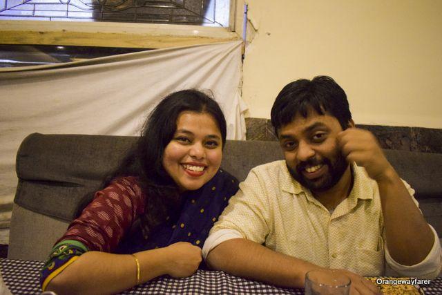 Madhurima Sayantan experiencing a Ramadan special food walk at Hyderabad!