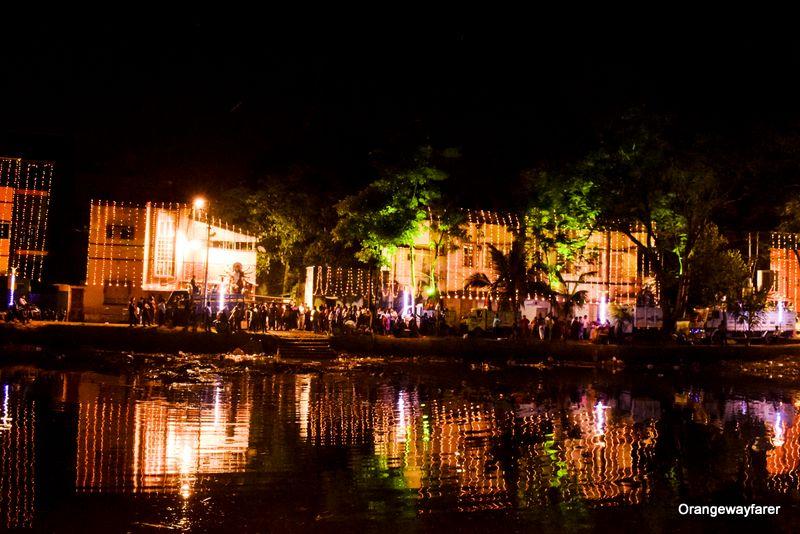 Behala Unique park Durga Puja