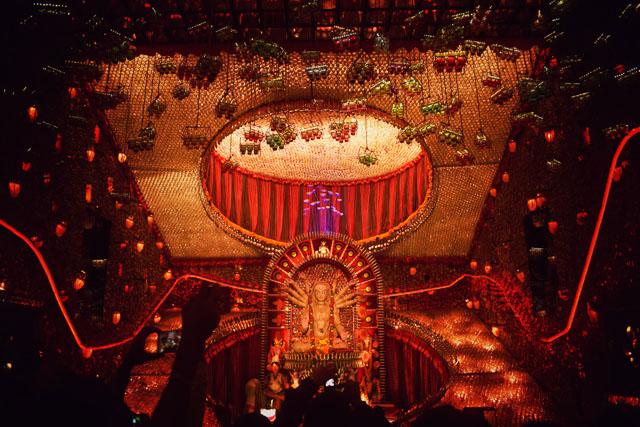 durgapuja pandal in Kolkata: a photo gallery