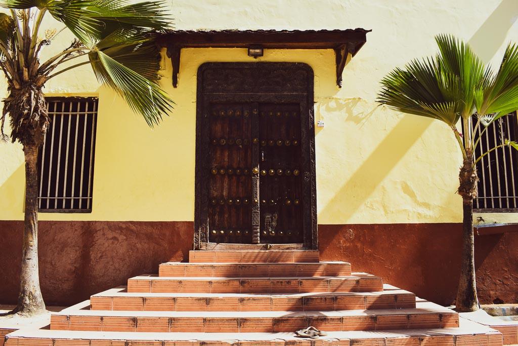 Doors of stone town, Zanzibar: UNESCO heritage site