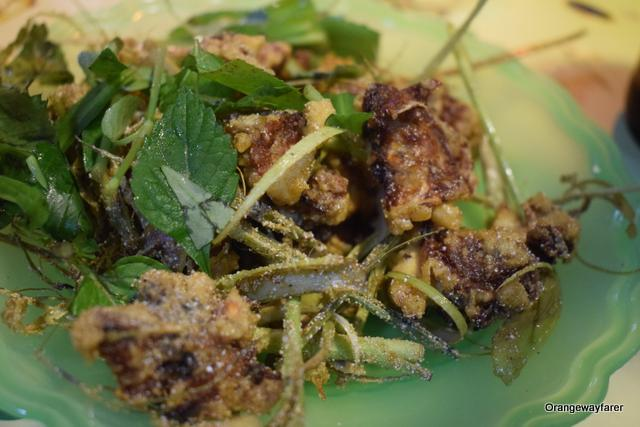 Fried Frog legs in Hanoi