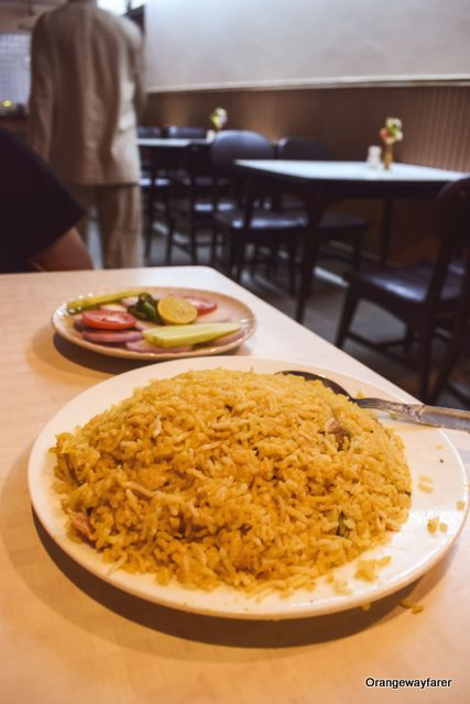 Biryani at Royal restaurant