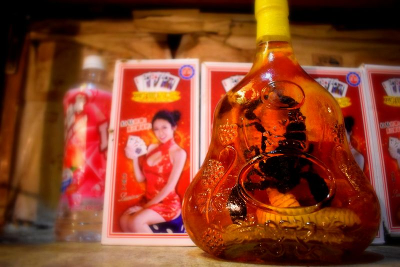 Snake wine, Vietnam