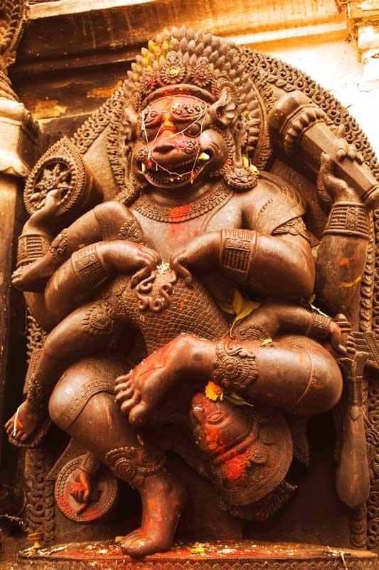Narasingha statue, Bhaktapur