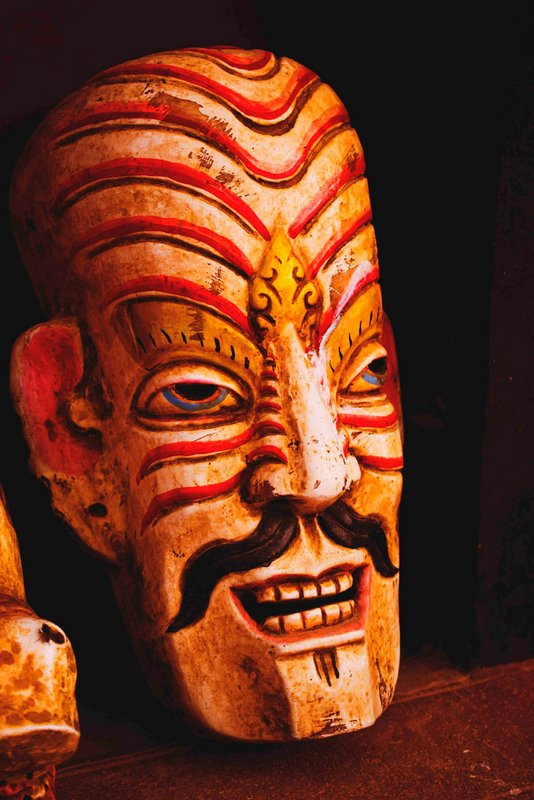 nepal demon mask. Where to visit Nepal. What to buy in Nepal. Thamel market. Where to visit in Kathmandu. A photo blog from nepal.  #nepal #travel #visitnepal #nepalmask #nepalphotography #nepaltravel #nepalart 3kathmandu 3thamelmarket 3asia #culturetrip #htm2019