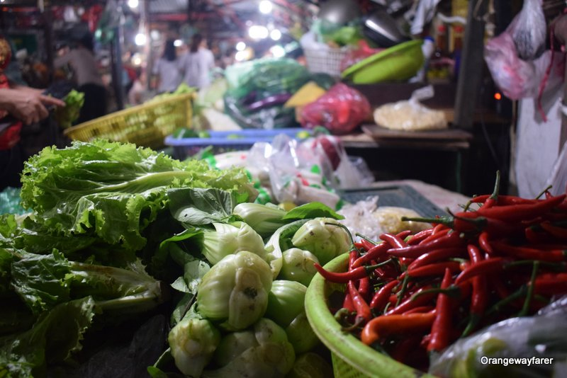 Red chilies Hanoi Local Market