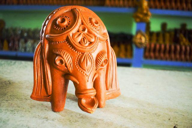 Bonga is the elephant God of the Santal tribe of the region. What a beauty the elephant is!