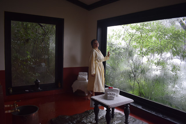 traditional Kodava bath at coorg. taj madikeri resort & spa, coorg madikeri, karnataka: best spa near bangalore