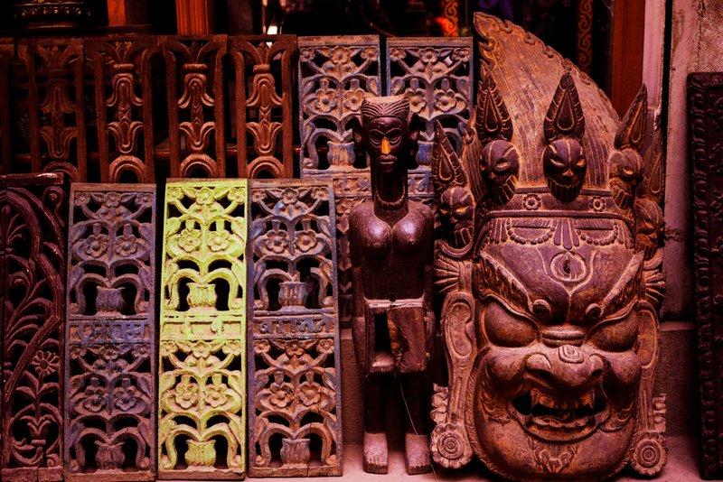 Nepal wooden Mask