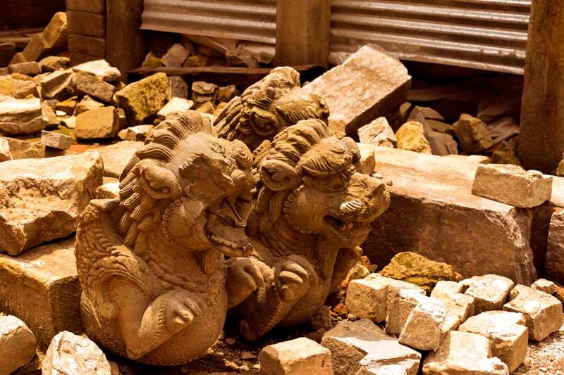 Bhaktapur After the earthquake