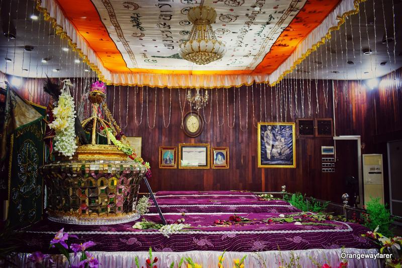 bahadur shah Tomb in Yangon