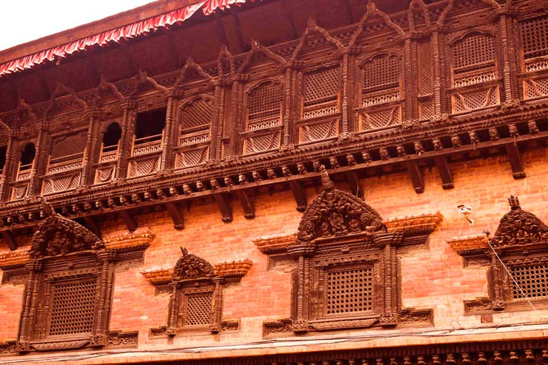 Bhaktapur Durbar Square and 55 Window palace Unesco Heritage SIte