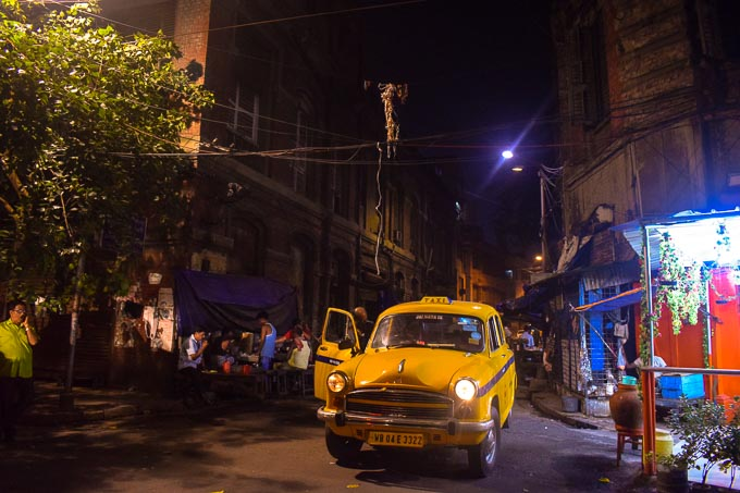 Yellow Taxi of Kolkata