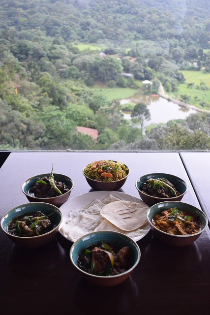 taj madikeri resort & spa, coorg madikeri, karnataka: Coorgi food