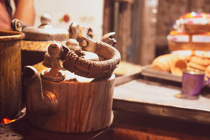 Street food of Kolkata at Decker's lane