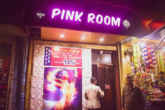 The Pink Room: Bar and Cabaret at the heart of Kolkata