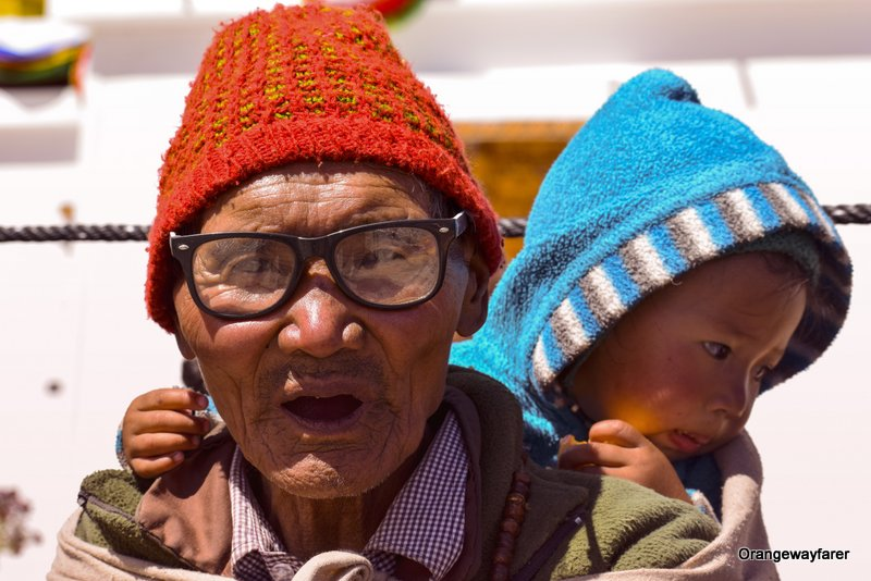 portrait shot Ladakh
