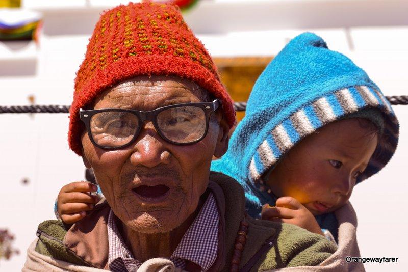 portrait shot Ladakh