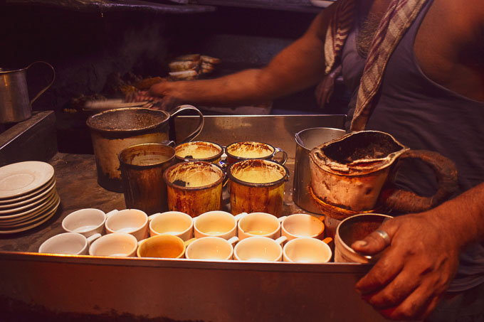 Tea shop in India