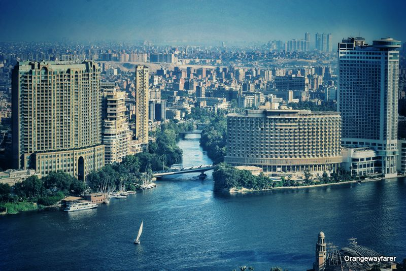 River nile and Cairo