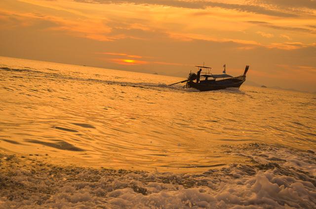 Sunset at Railay Beach Krabi