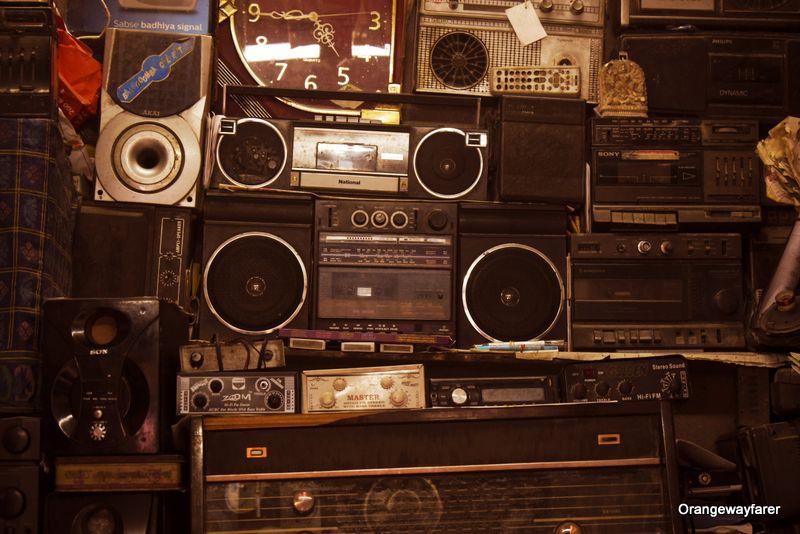 Vintage Cassette Player Phillips